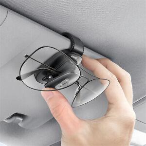 Car Glasses Case Glasses Holder Card Ticket Holder Universal Accessories