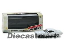 1970 Dodge Challenger R/t disparition Point 1971 Blanc Greenlight 1 43 Echelle