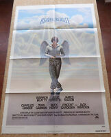 Heaven Can Wait Movie Poster, Original, Folded, One Sheet, year 1978, U.S.A.