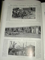 1899 BOER WAR 42ND BATT RFA PRINCES DOCK BOMBAY TROOPS