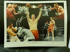 David Price Signed Large Boxing Photograph