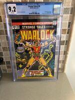 Strange Tales #178, NM- 9.2 CGC, 1st Appearance Magus; Jim Starlin Warlock Saga