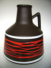 Keramik Vase 2007/20 ILKRA West-Germany pottery WGP Fat Lava era vintage 20cm