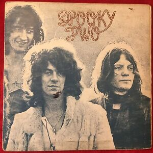 SPOOKY TOOTH TWO  LP  1968  ISLAND  ILPS-9098  PINK LABEL  ROCK  UK  TESTED RARE