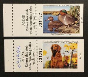 TDStamps: US NH Duck Stamps (2) Mint NH OG