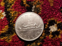 Canada 1981 One Dollar Coin.