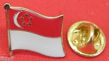Singapore Country Flag Lapel Hat Cap Tie Pin Badge Brooch