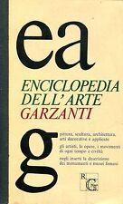 ENCICLOPEDIA GARZANTI DELL'ARTE 1a edizione 1973