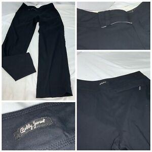 """Bobby Jones X-H20 Stretch Golf Pants Sz 2 Black Cotton Nylon 28"""" YGI G1-131"""