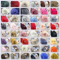 Sale New 1 Skein x 50 gr Soft 100% Cotton Chunky Super Bulky Hand Knitting Yarn