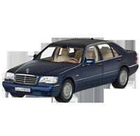 Mercedes Benz W/ V140 S Class S 500 Long Version Facelift Azurite Blue 1:18 NIP