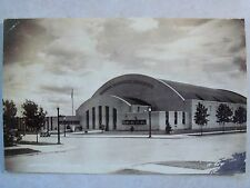 RPPC MN. HIBBING MEMORIAL BLDG., POSTED: HIBBING MINN. 1939 REAL PHOTO POSTCARD