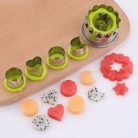 Stainless Steel Flower Shape Vegetable Fruit Cutter Mold Slicer Kitchen Tools
