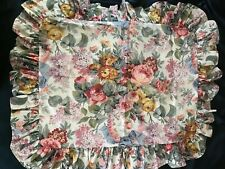 Fab! Vintage Ralph Lauren Allison Multi Floral Design One Std Pillow Sham Usa