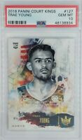 2018-19 Panini Court Kings Trae Young Rookie RC #127, Graded PSA 10, Pop 10