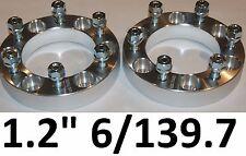 1pr Wheel Hub Spacers 6 Stud Toyota Landcruiser 40 45 47 55 60 73 75 80 series