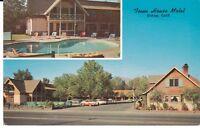 "Bishop CA  ""The Town House Motel""  Postcard California * FREE U.S. SHIP"