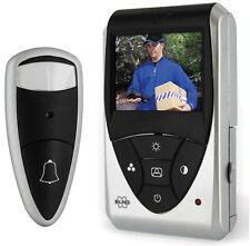 Video Türspion digital Spion Elro VD24 Kamera Türklingel farb Monitor Smartwares