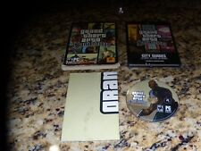Grand Theft Auto San Andreas PC Game with City Guides and poster