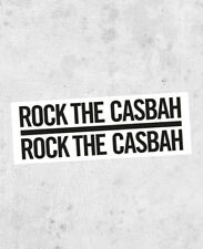 "The Clash Lyric Sticker! ""Rock The Casbah"" joe strummer punk 1970 uk sex pistols"