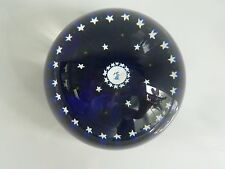 Perthshire Paperweight Christmas Angel w/Stars 1979 EC LE