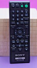 SONY ~ Remote Control DVD ~ Model # RMT-D197A ~ Factory Remote