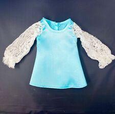 Vintage Ideal Posin Tressy Doll Original Aqua/Blue Outfit Dress Crissy Sears