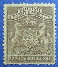 1892 RHODESIA 1S SCOTT# 9 S.G.# 4 UNUSED                                 CS09597