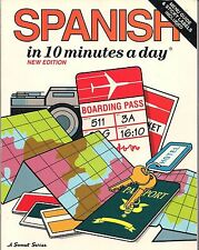 Spanish in 10 Minutes a Day (Menu Guide and Sticky Labels)