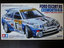 Rare ! TAMIYA 1/24 FORD ESCORT RS Cosworth 4×4 '94 Monte Carlo Rally Winner !