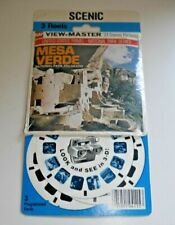 * SEALED * MESA VERDE NATIONAL PARK COLORADO VIEWMASTER REELS SET A325 RARE E023