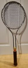 Vintage Wilson Tennis Racquet, MEDIUM 4 5/8 grip - Firm Flex - Great Shape