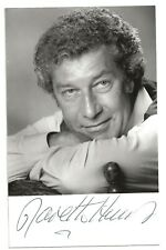 Gareth Hunt. Actor. The New Avengers, Doctor Who. Genuine Signed photo