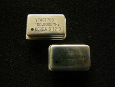 VALPEY FISHER ACMOS/TTL Compatible Crystal Clock Oscillator 100MHz NEW Qty.2