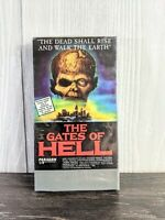 Creature Features Entertainment/The Gates of Hell VHS 1997