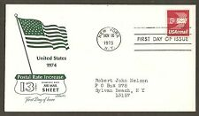 #C79 13c Winged Airmail Envelope - Artmaster FDC