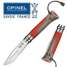 KNIFE OPINEL OUTDOOR N° 8 COLTELLO DA LAVORO CACCIA PESCA SURVIVOR FOLDING CAMPO