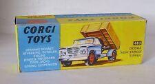 Repro Box Corgi Nr.483 Dodge Kew Fargo Tipper