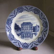 "Societe Ceramique Maestricht Holland 9"" Plate Gravenhage Mauritshuis The Hague"