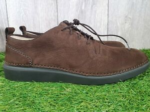 CLARKS Shoes, Active Air, Hale Lace, Brown Suede, Casual Size UK 10.5, E, NEW