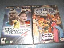 PES 4 + CELEBRITY DEATH MATCH  Boxed Pal Ita per PC