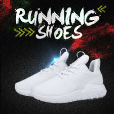 Soulsfeng Men #US9.5 Sneakers White Lightweight Breathable Athletic Sport Shoes