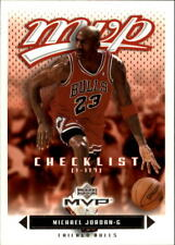 Michael Jordan #199 Upper Deck MVP 2003/04 NBA Basketball Card