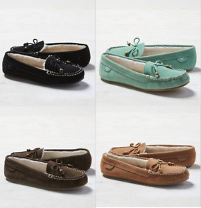 NWT American Eagle AEO Moccasin Suede Slippers