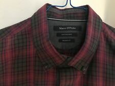 Marc O'Polo Softpeached  tolles HERRENHEMD - Shaped Fit - Hemd Gr.M - MarcoPolo