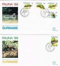 Suriname republiek 1989 FDC E129+A onbeschreven open klep