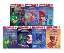 PJ MASKS Disney Junior Series LEVEL 1 READERS Set of 7 Paperback Books