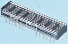 Broadcom Hdsp-2533 de 8 Dígitos matriz puntos pantalla Led 7 X 5 verde 7.5 MC