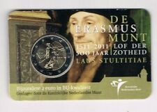 NEDERLAND 2011 2 EURO COINCARD ERASMUS BU originele uitgave