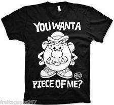 MR POTATO HEAD Piece Of Me  T-Shirt  camiseta cotton officially licensed